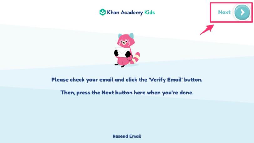Khan Academy kids|おうちで英語を学ぶ知育アプリ【メールアドレスの承認】