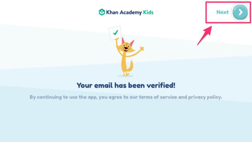 Khan Academy kids|おうちで英語を学ぶ知育アプリ【メールアドレスの承認完了】